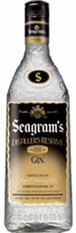 Seagrams Gin Distillers Reserve